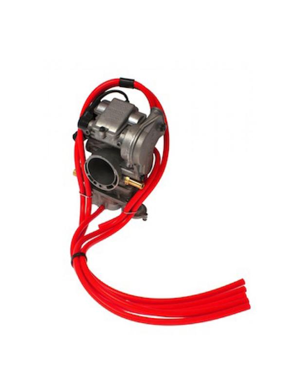 Tubos Carburador Vermelho